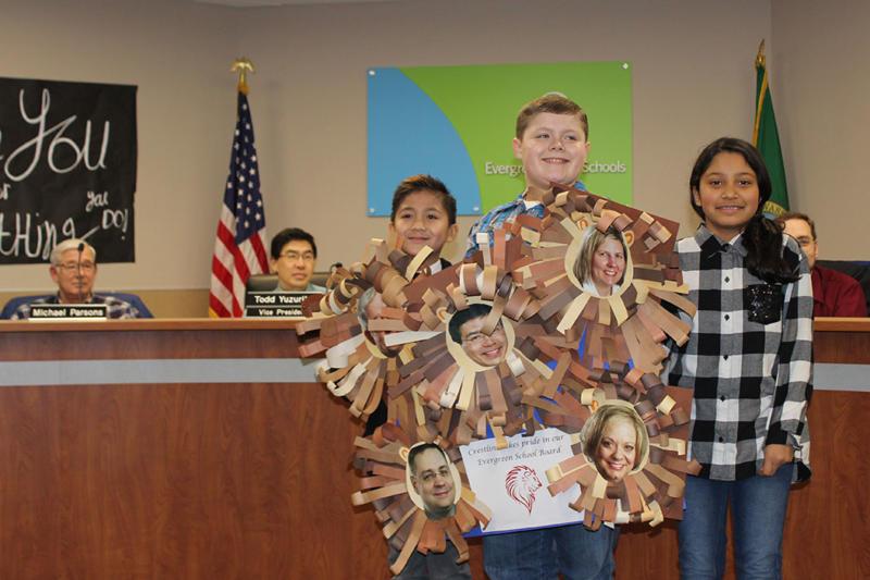 Evergreen School Board named a 2017 Washington Board of Distinction